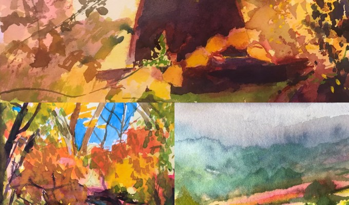 Delighted to have 3 of my paintings in this wonderful online exhibition with Moorwood Art: Windmill, Across the Vale and Morning walk November. Head over to Moorwood Art to https://www.moorwoodart.com/exhibitions/paintings/ to check out this treasure trove.