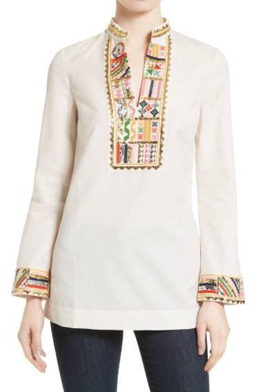 My closet can use more embellished tunics.