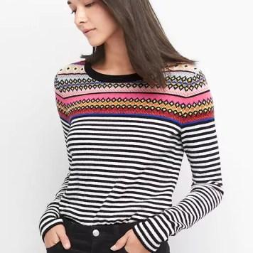 fair isle stripe