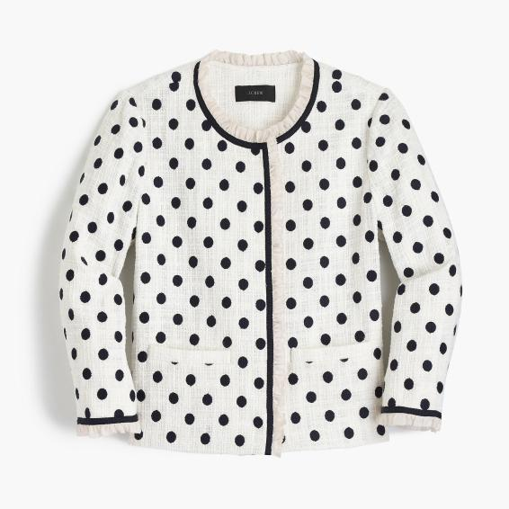 whitedotkjacket
