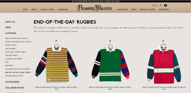 Rowing Blazers End of Day Rugby