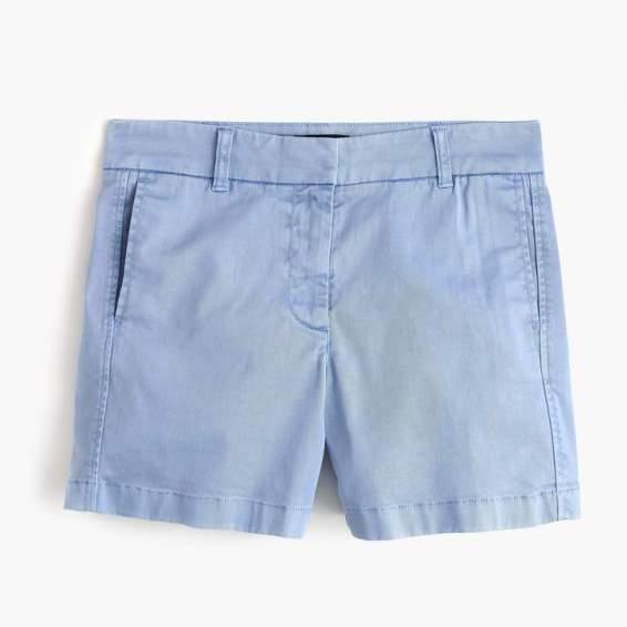 j.crew five inch chino shorts