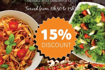 Lucios Pizza, Best Pizza, Near Me, Blackheath, Cresta, Restaurants in Randburg, #inrandburg, Pensioners Thursday Special at Lucios Pizzeria landscape