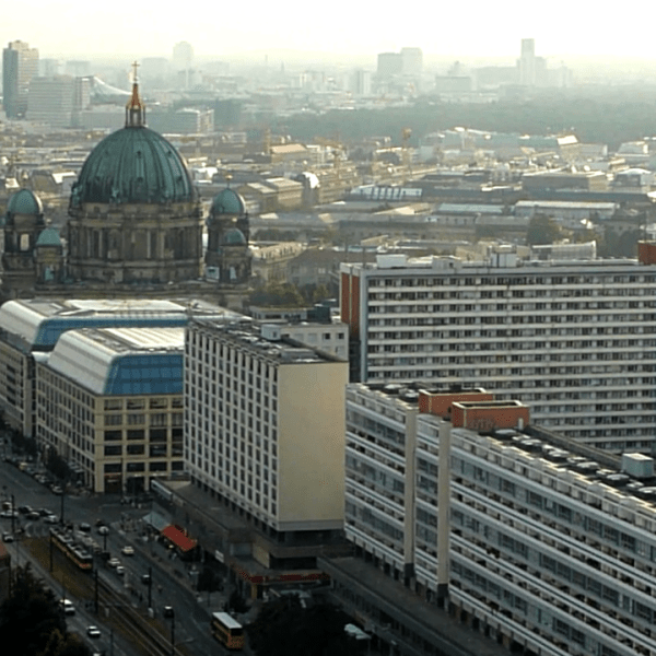 Photos of Berlin from a Bird's Eye View