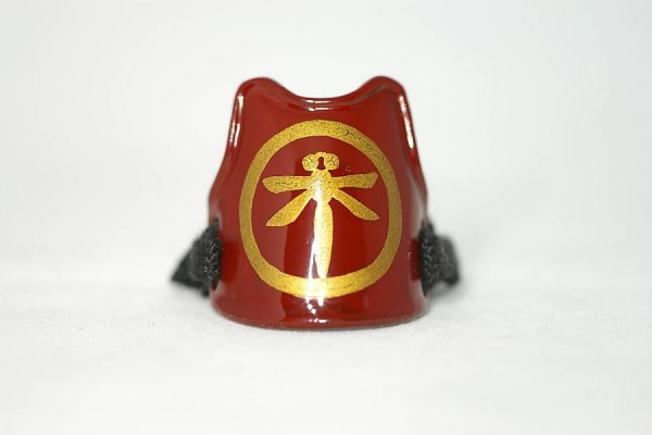 Samurai armor ring red