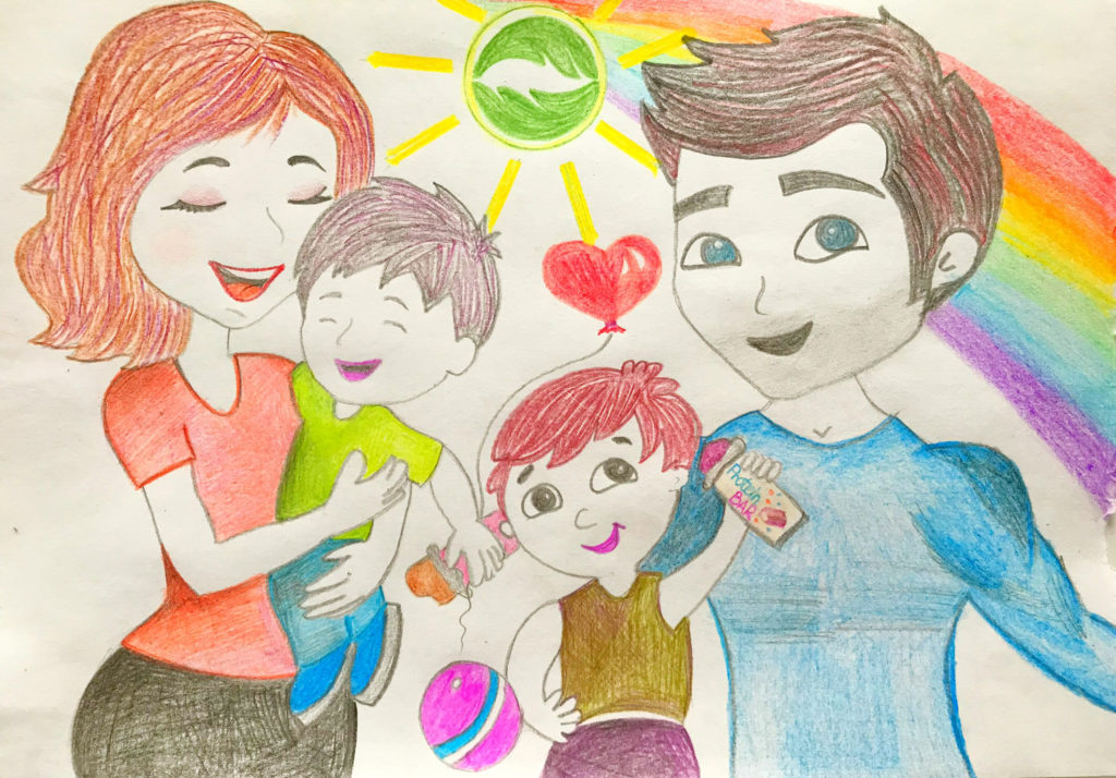 караоке картинки рисунки на тему моя семья при увеличении уже