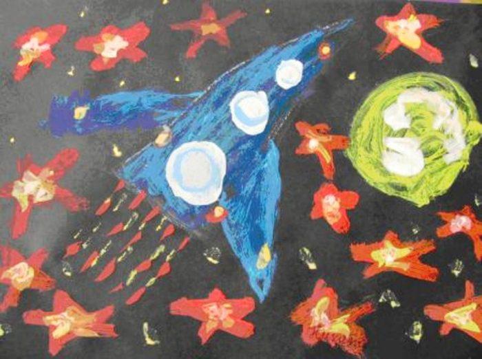 Картинки для средней группы космос деревянное крыльцо