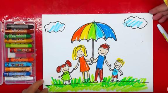 Тест для детей нарисуй семью. Тест «Моя семья»