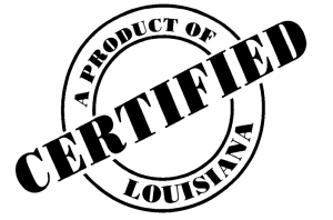 Certified Product of Louisiana