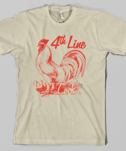 Forth Line Cock Hockey T-Shirt