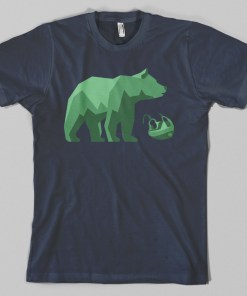 West Coast Bear Hockey T-shirt
