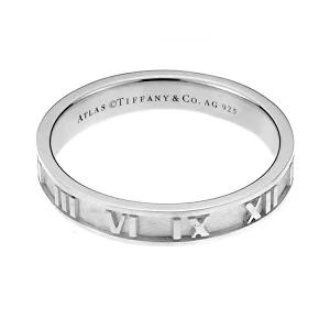 ティファニー アトラス ナローバンドリング 指輪