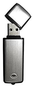 BeryKoKo ボイスレコーダーUSBメモリー型8GBシルバーモデル