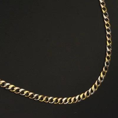喜平ネックレス 18金 k18 ゴールド ピンクゴールド プラチナ トリプルカラー