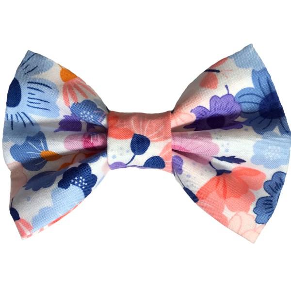 floral dog bowtie