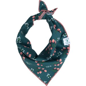 FALL TEAL FLORAL DOG BANDANA