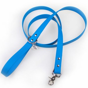 sky blue waterproof dog leash