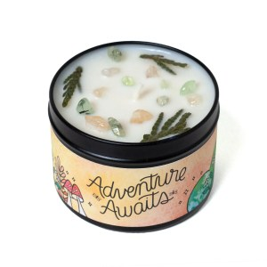 Adventure Awaits Aromatherapy Candle – Citronella & Woodsy