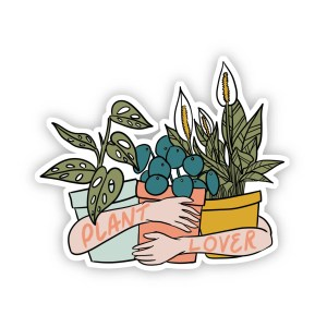 PLANT LOVER ARMS STICKER