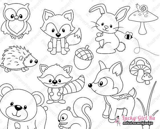 Kako nacrtati slatke životinje