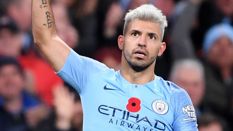 Hat-trick Sergio Aguero Menangkan Manchester City
