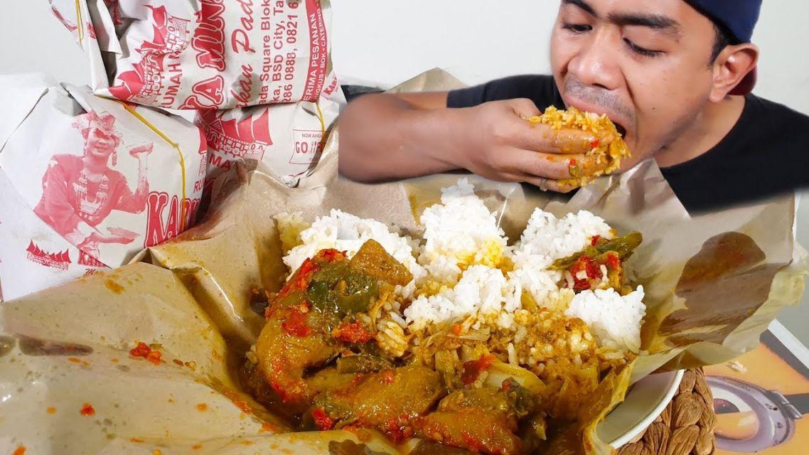 Mengapa Porsi Nasi Padang Lebih Banyak Pada Saat Dibungkus?