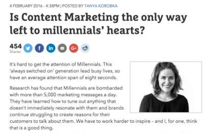 """""""Millennial Marketing"""" Isn't Defined By Age Group"""