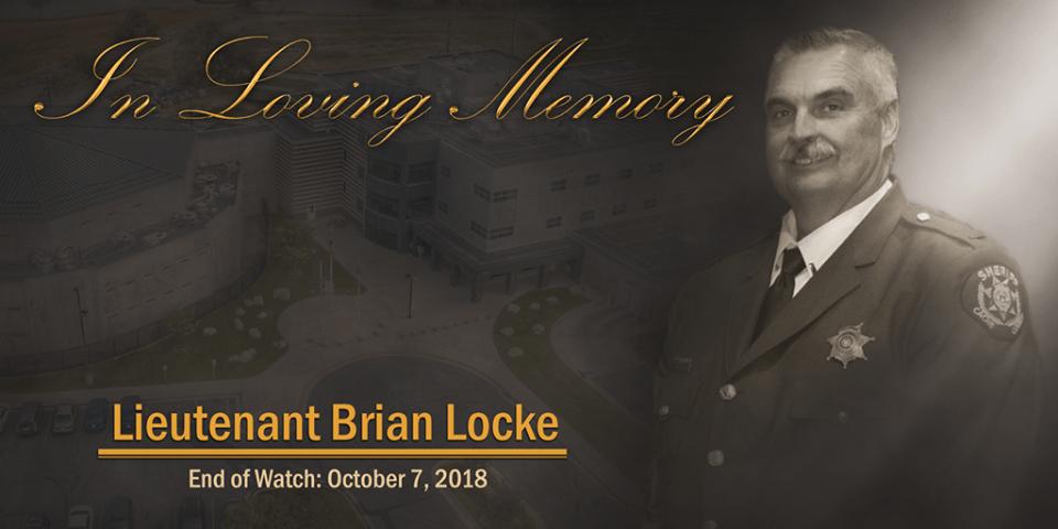 Lieutenant Brian Locke RIP