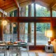 Lucky Bend Lookout, A Mid-Century Modern, Family Friendly Vacation Rental on the Russian River in Guerneville, California
