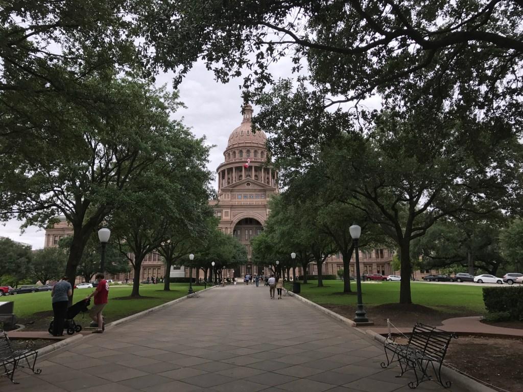 Austin Texas state capital building