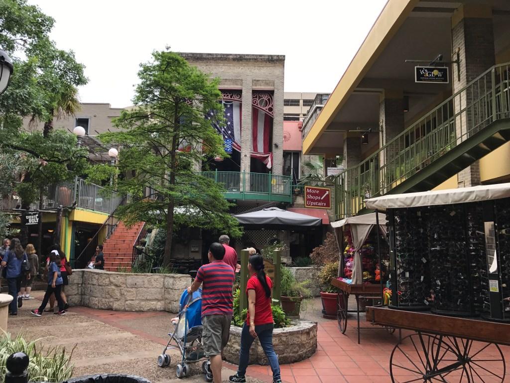 San Antonio Riverwalk shops