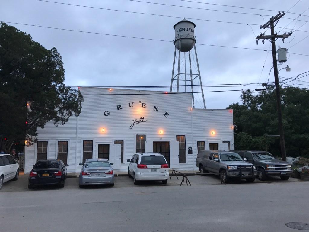 Gruene oldest dance hall in Texas