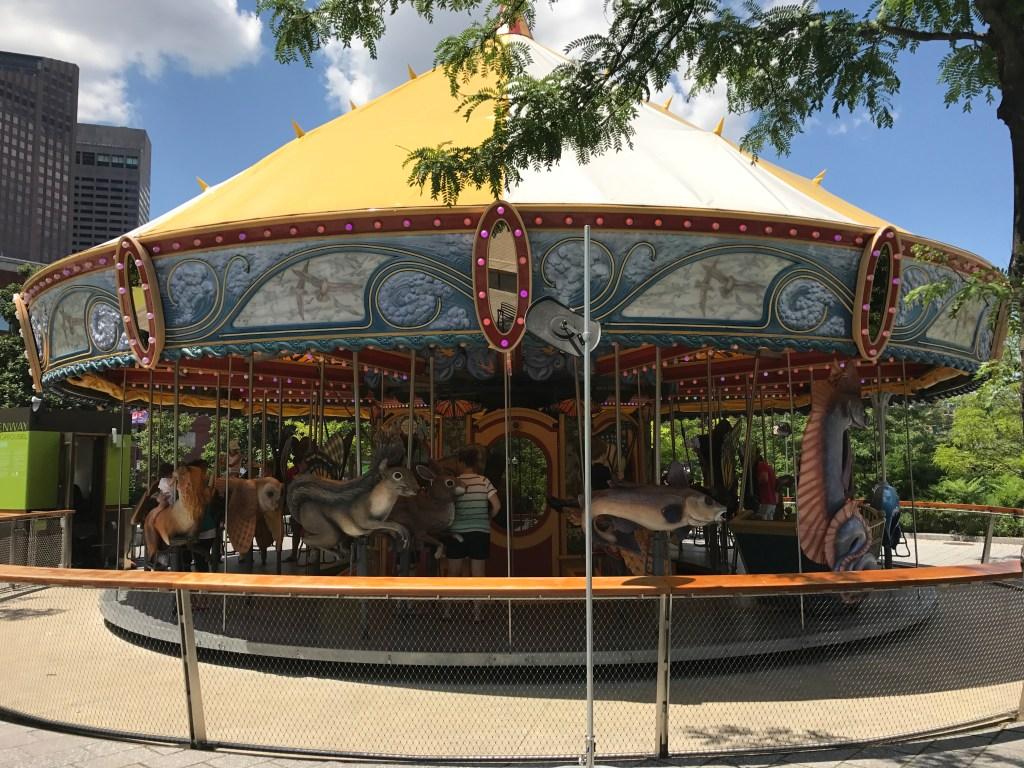 Rose Kennedy Greenway carousel Boston