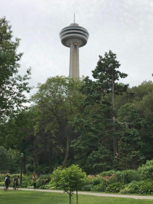 skylon tower, niagara falls, ontario canada