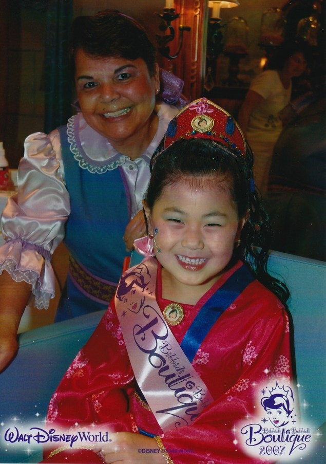 Baby Bug as Mulan Bibbidi Bobbidi Boutique Walt Disney World MNSSHP