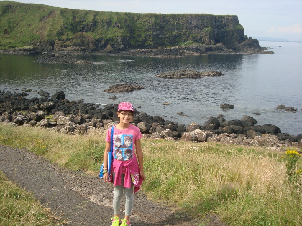Baby Bug at Giant's Causeway