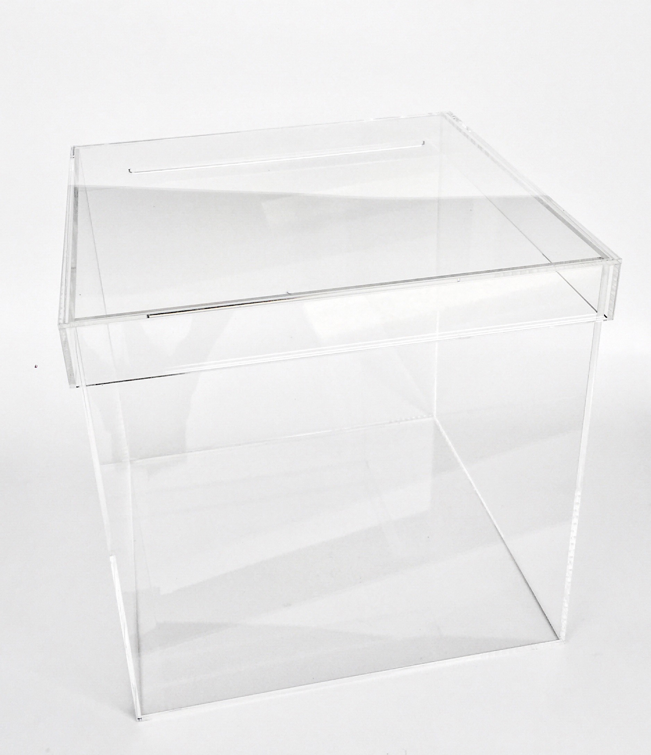 RENTAL The Knot Acrylic Card Box For Wedding Gift Box