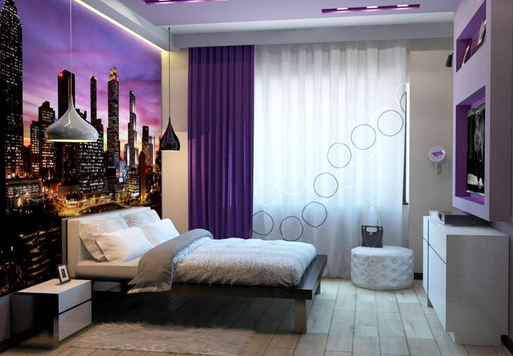 современная спальня дизайн 2