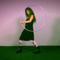 Lassoing Pluto's Moon with a Hula Hoop