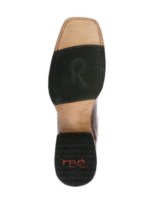 Rod Patrick Volcano Oryx Black Caiman Square Toe Boot RPM114