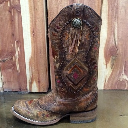 Corral Square Toe Aztec Western Boot C2915