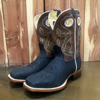 Kid's Cinch Premium Action Leather in Brown KCK132