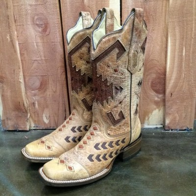 Corral Antique Saddle Boot A3122