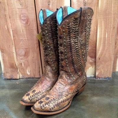 Corral Cognac Brown Boot C3004