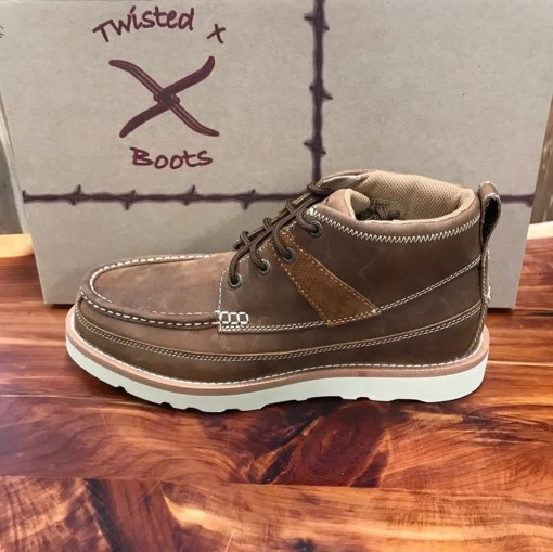 Men's Twisted X Lace Up Driving Mocs MCA0007