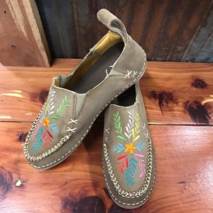 Women's Cinch Embroidered Slip-on Driving Mocs CCW3021