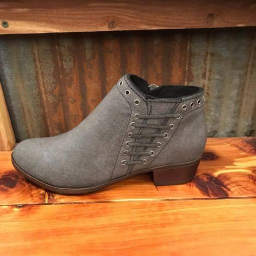 Ladies Minnetonka Brenna Boot Vintage Charcoal 1531T