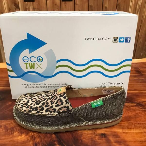 Women's ECO TWX Casual Loafer – Dust/Leopard WCL0001