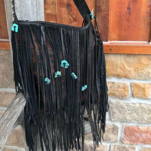 The Black Betty Swinging Stone Purse