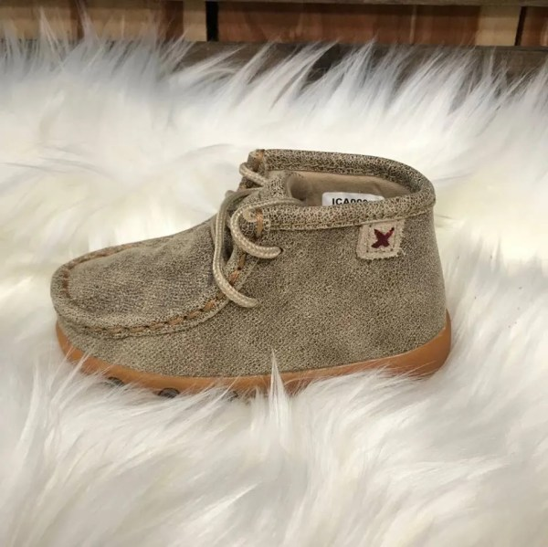 Twisted X Infant Dusty Tan Mocs ICA0005
